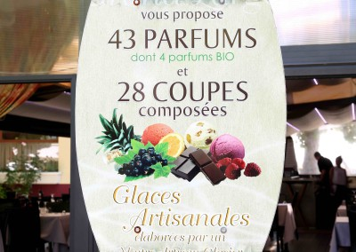 ENTREE RESTAURANT GLACE